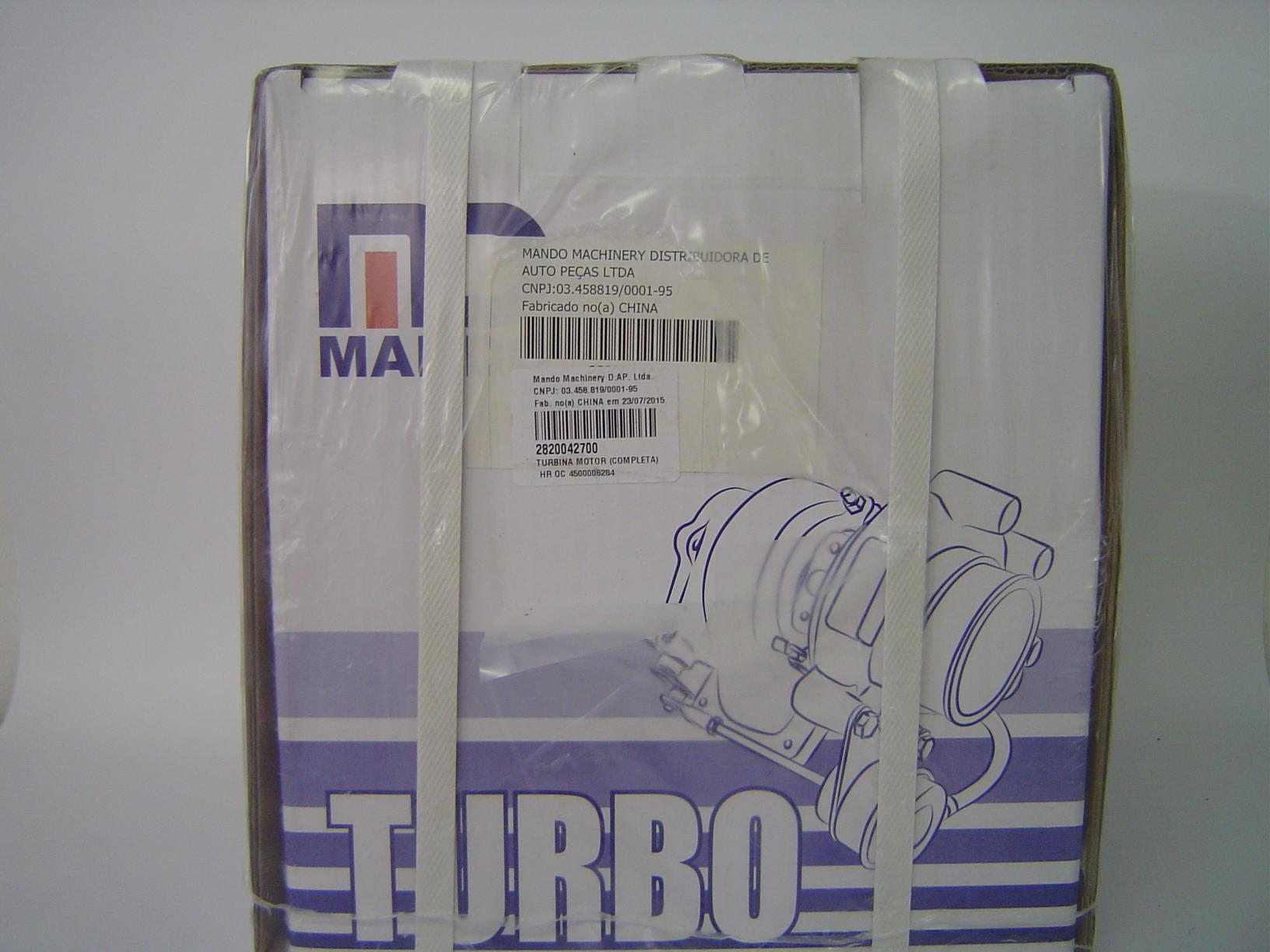 TURBINA  KIA K2500 Tci DIESEL 5 MARCHAS