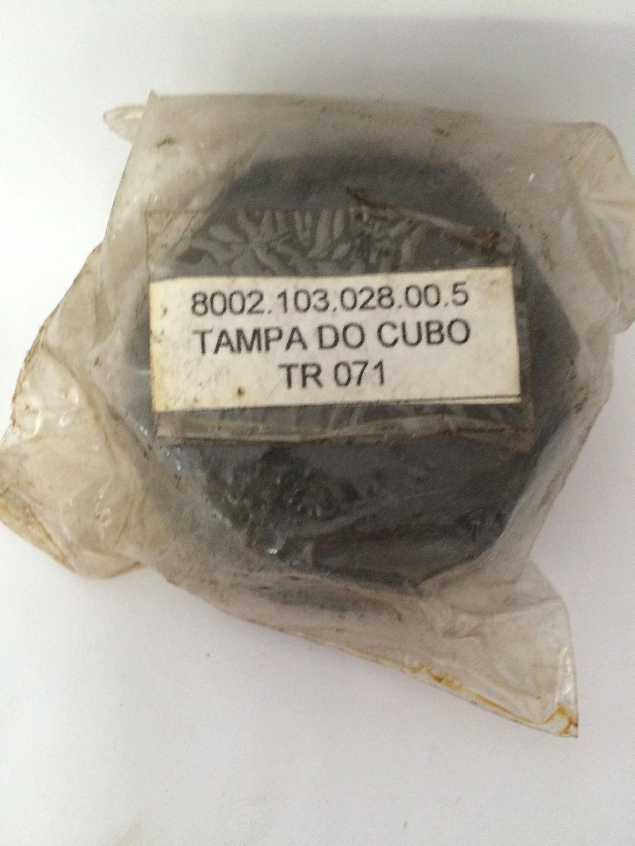 CALOTA DA RODA DIANTEIRA COM ROSCA AGRALE 4100 Código 8002.103.028.00.5