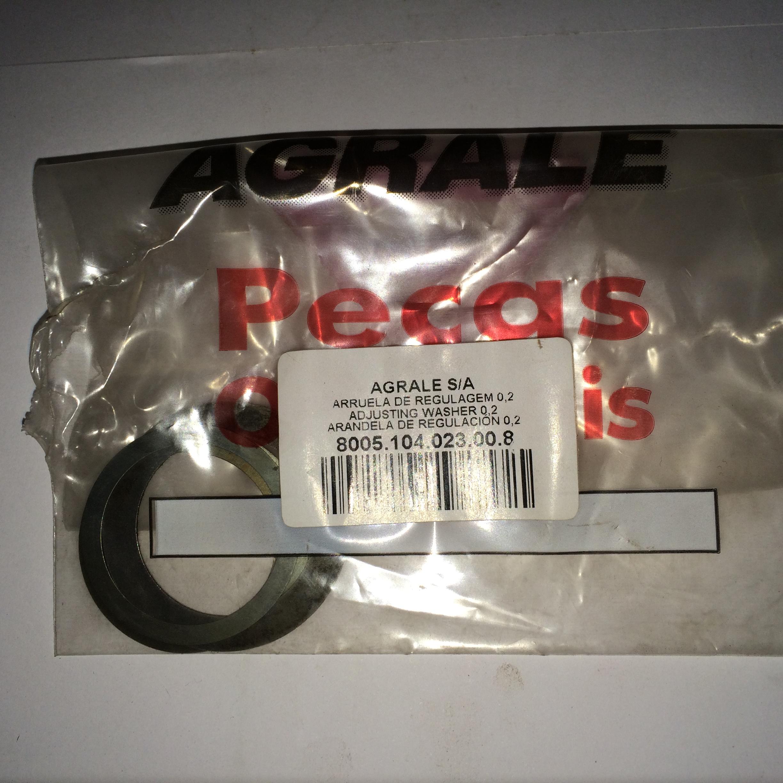 ARRUELA DE REGULAGEM 0,2 MM Código 8005.104.023.00.8