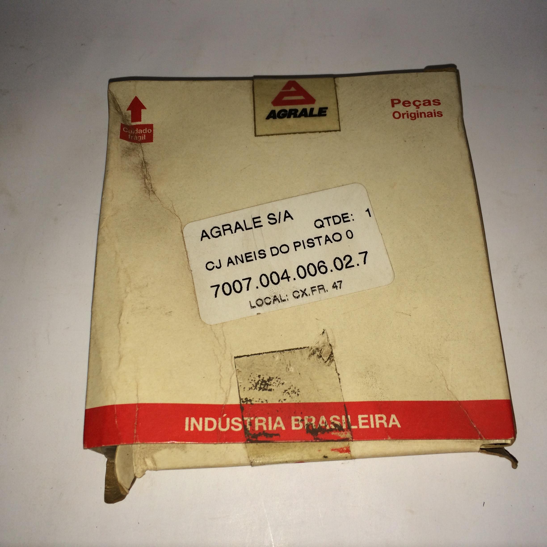 JOGO DE ANÉIS DO PISTÃO 0,50MM M790 Código 7007.004.006.02.7