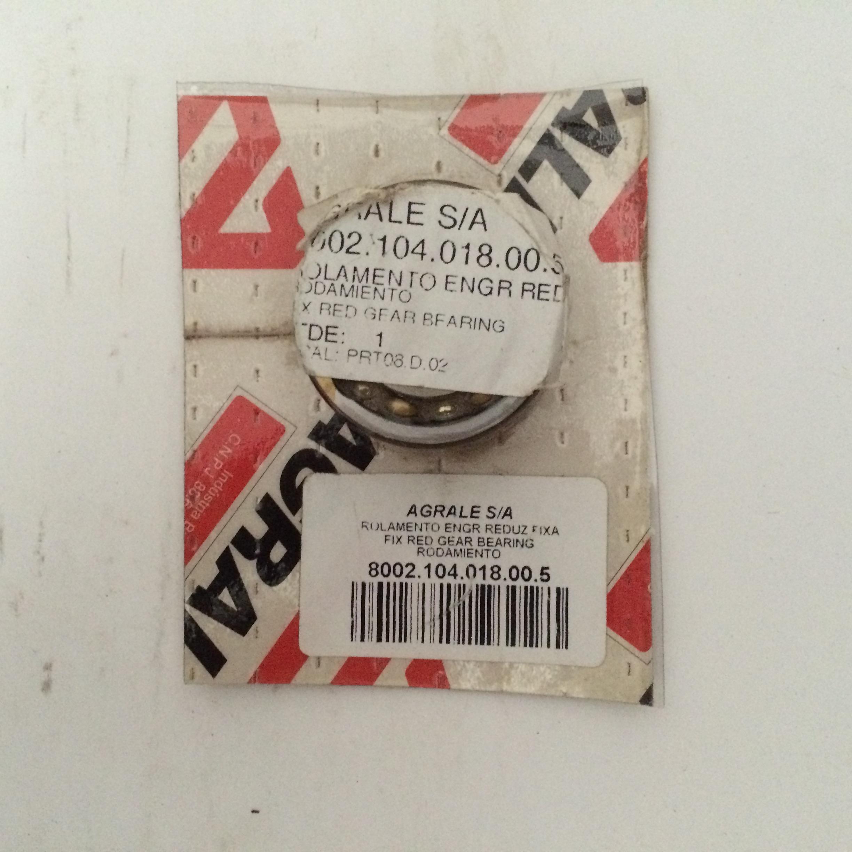ROLAMENTO 4203 DA ENGRENAGEM REDUZIDA FIXA AGRALE 4100 Código 8002.104.018.00.5