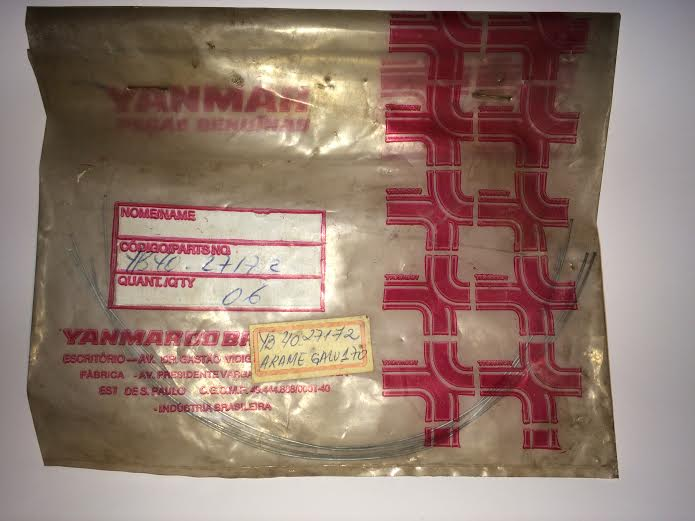 ARAME GALVANIZADO 170 Código YB4027172