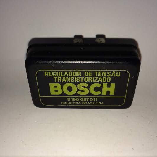 REGULADOR DE TENSÃO TRANSISTORIZADO BOSCH Código Bosch 9190087011B7Q559