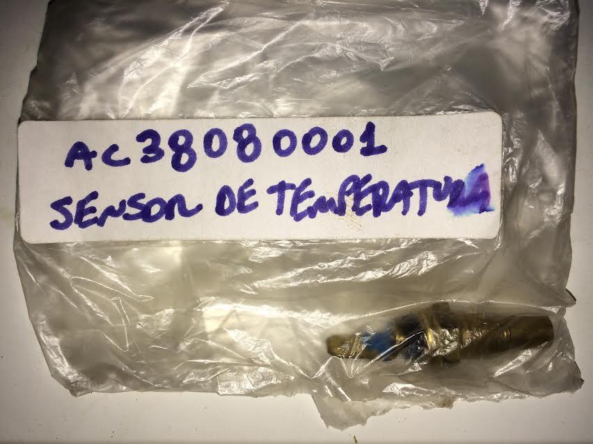 SENSOR DE TEMPERATURA TOWNER Código AC38080001