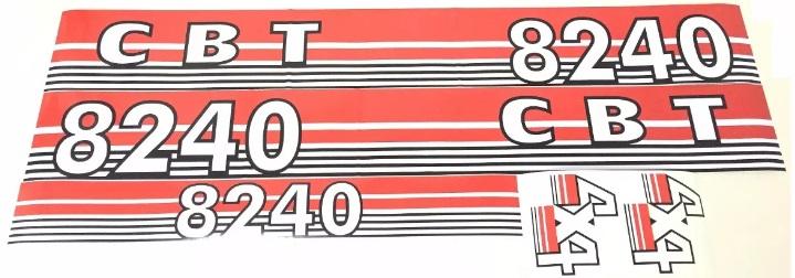 JOGO DE DECALQUE CBT 8240 CODIGO 27002030012