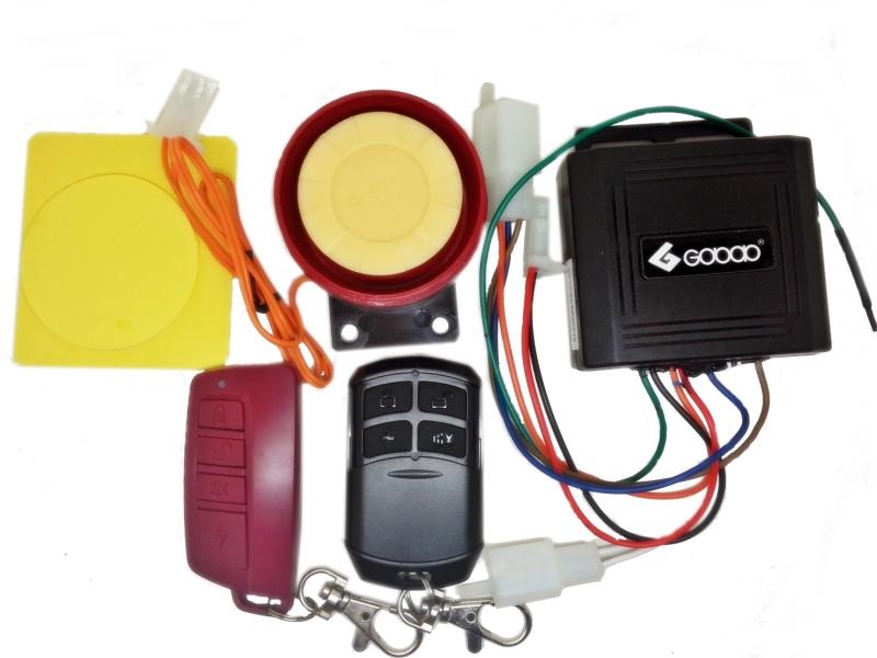 Sistema De Alarme Bike Eletrica Sousa 350 W