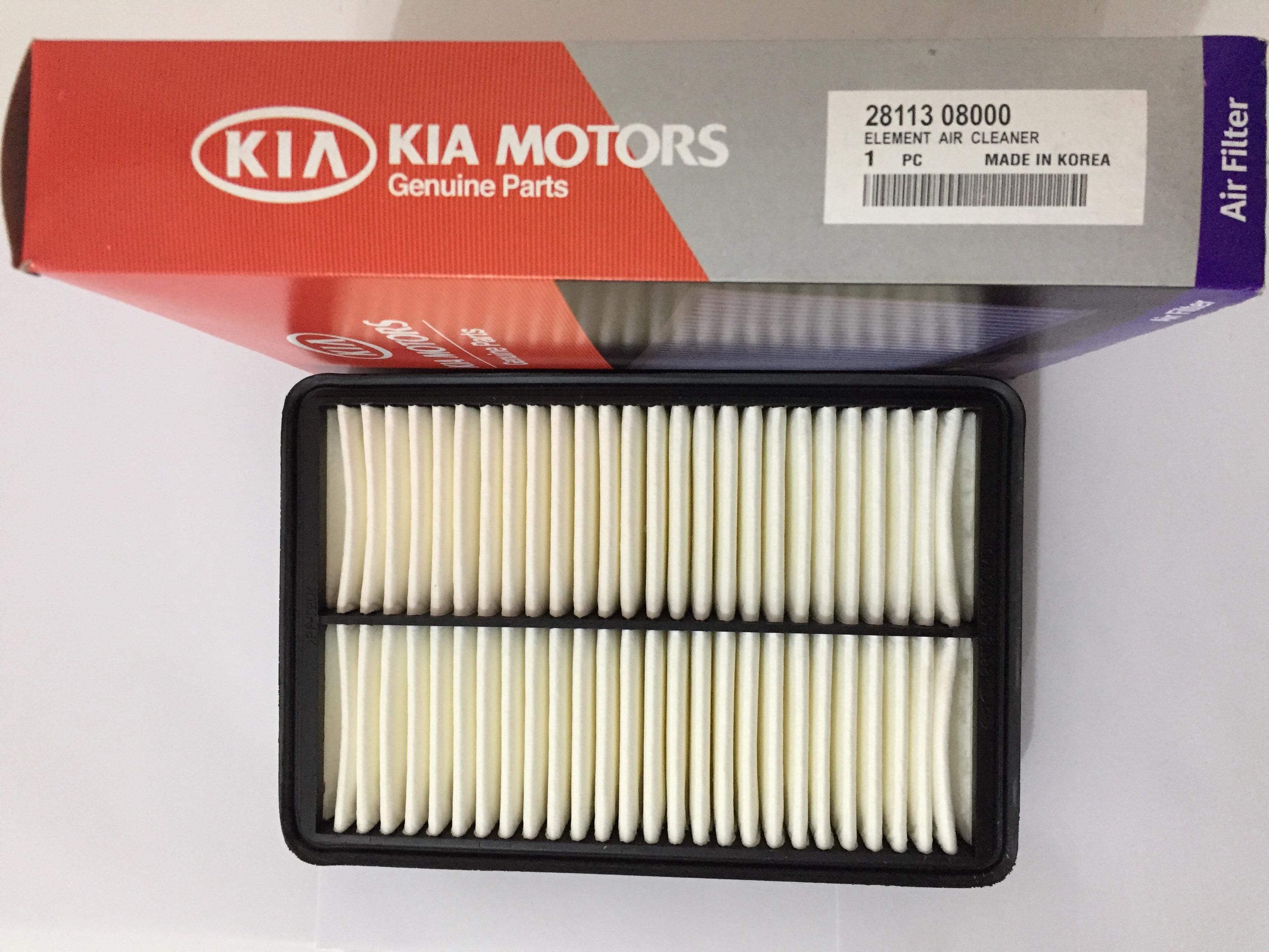 FILTRO DE AR MOTOR KIA SPORTAGE 2.0 CODIGO 2811308000