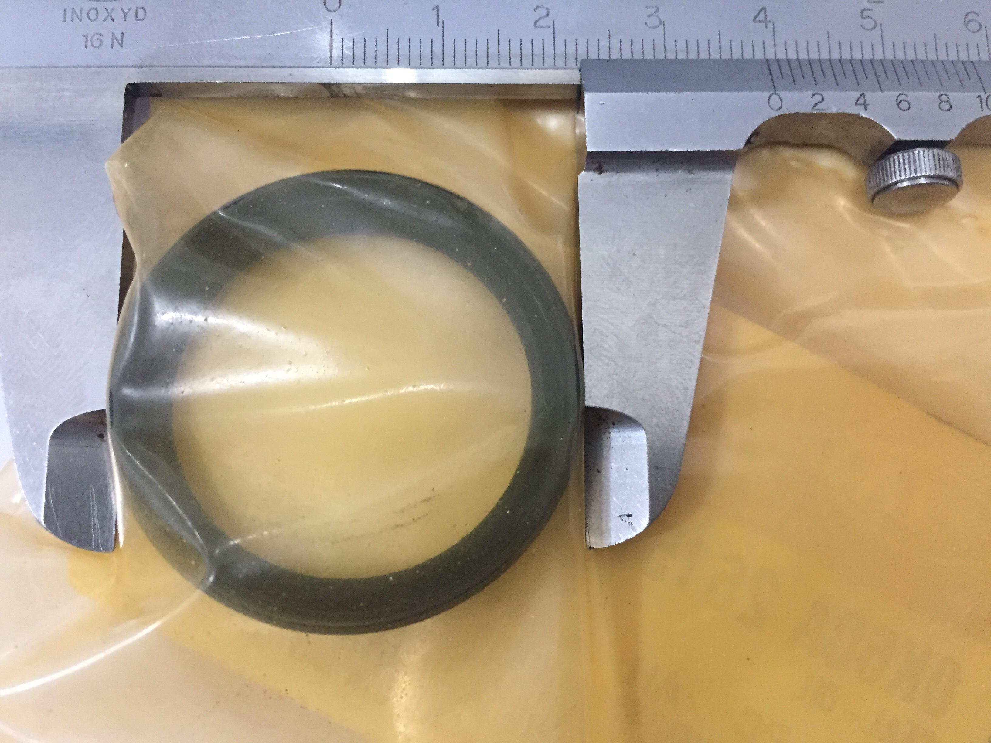 SEM ESTOQUE  /  RETENTOR DA RODA TRASEIRA ( MENOR MEDIDA EXTERNA 39 mm ) KIA BONGO K2700 CODIGO  0K60A26157