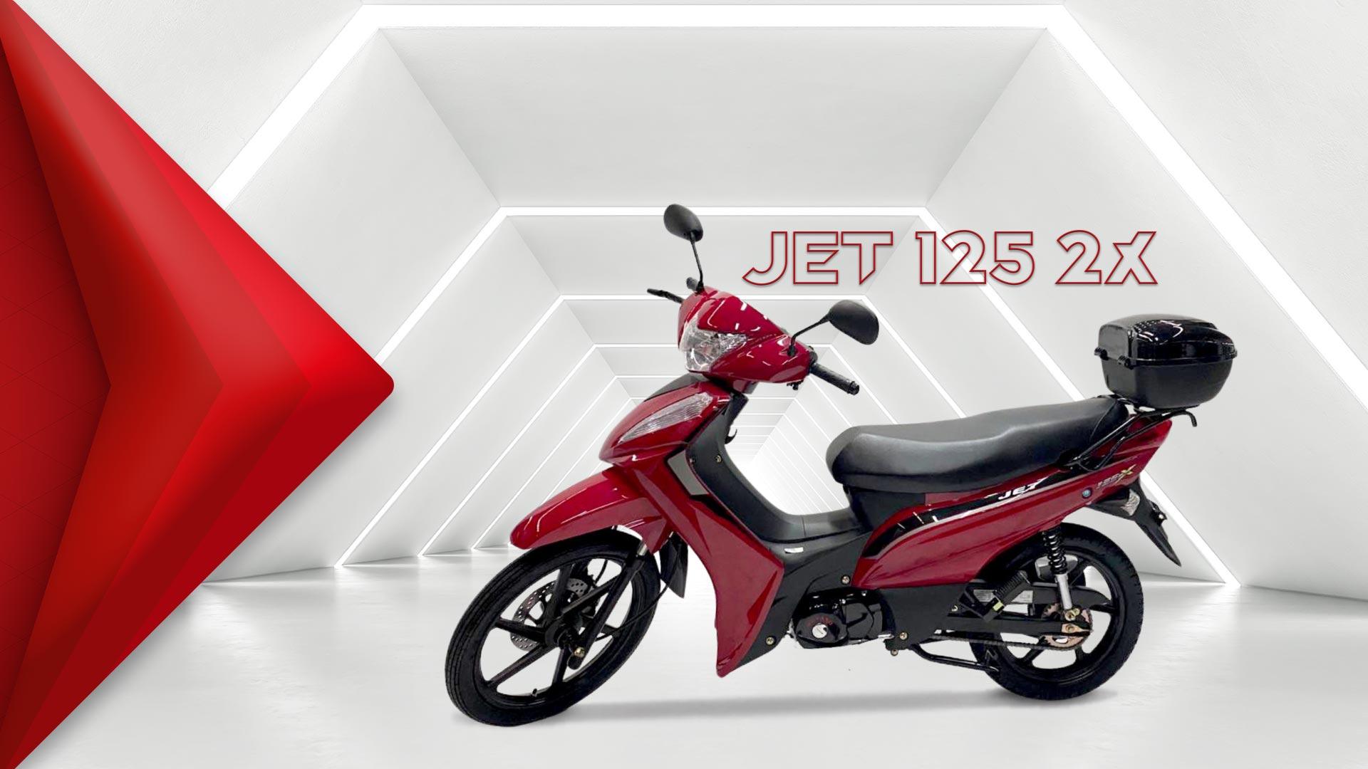 SHINERAY JET 125 2x ((( GASOLINA ))) Motor 125 cilindradas refrigerado a ar, 4 tempos, 4 marchas,  buzina, farol, retrovisores, pisca, embreagem centrífuga automática,  par